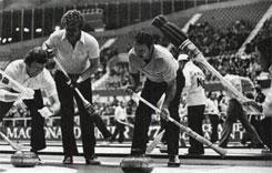 Sweepers Skip Brooms