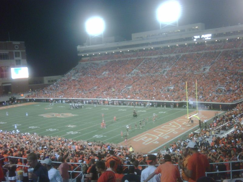 4th Quarter at Boone Pickens