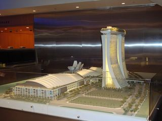 SCALE model of Marina Bay Sands
