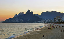 Sunset ipanema